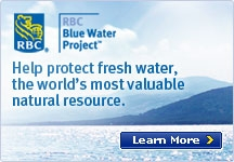 Learn more - Help protect fresh water, the world's most valuable natural resource.